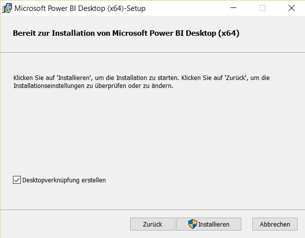 Installation-Power-Bi-desktop-Installation-starten